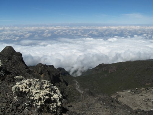 From the top of the Barranco Wall
